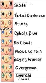 Name Animal Crossing New Leaf Eye Colors Jpg Views 13131 Size 10 6