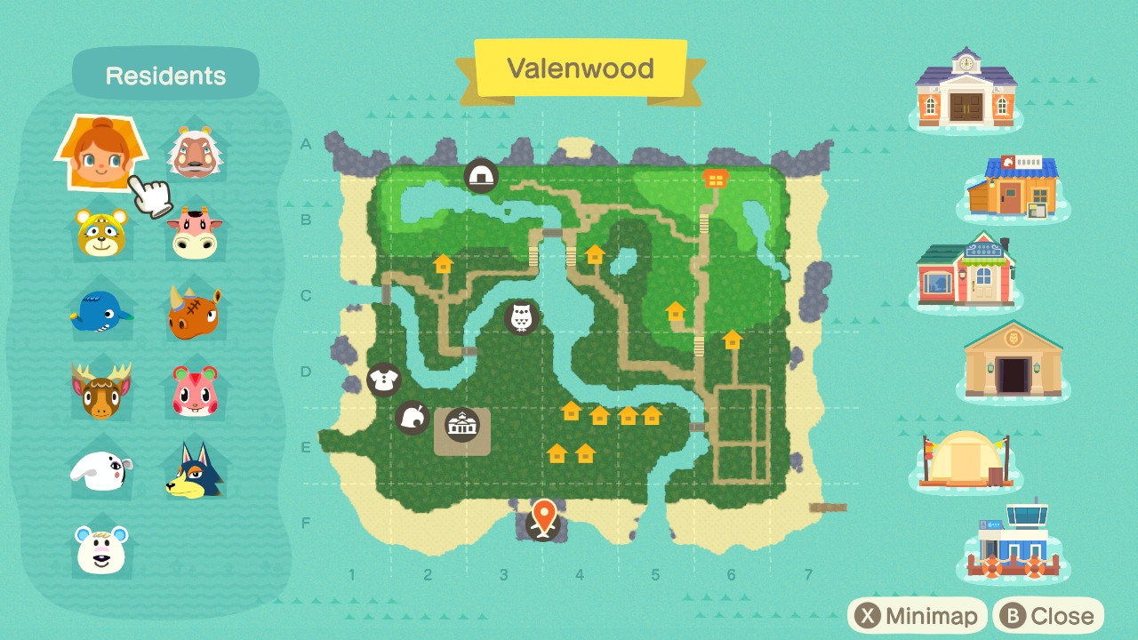 Share Your Island Map Page 9 The Bell Tree Animal Crossing Forums