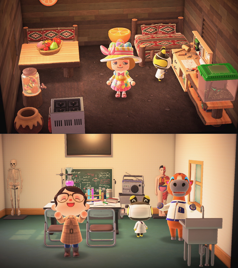 Initial Villager House Styles The Bell Tree Animal Crossing Forums